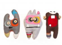Handmade Felt Monsters